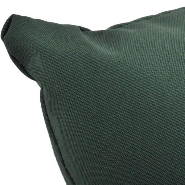 4-tlg. Kissenset für Schaukelstuhl Grün Stoff