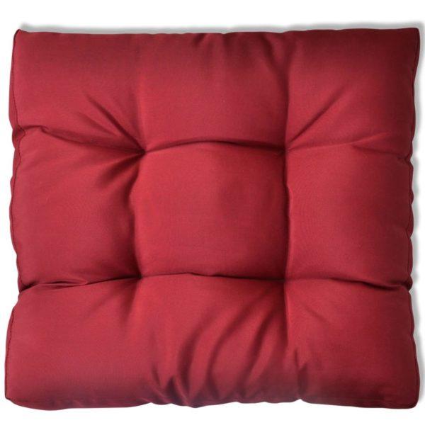 Auflagen Sitzpolster Polster Sitzkissen 60 x 60 x 10 cm Rot
