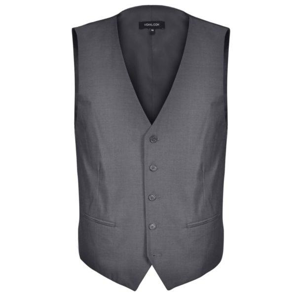 Business Anzug für Herren 3-teilig Grau Gr. 52