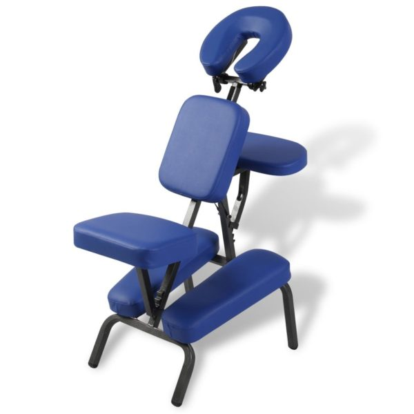 Faltbarer & Tragbarer Massagestuhl Blau