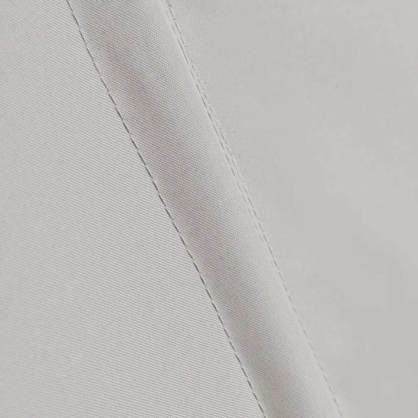 Faltbarer Balkonfächer Creme 210×210 cm