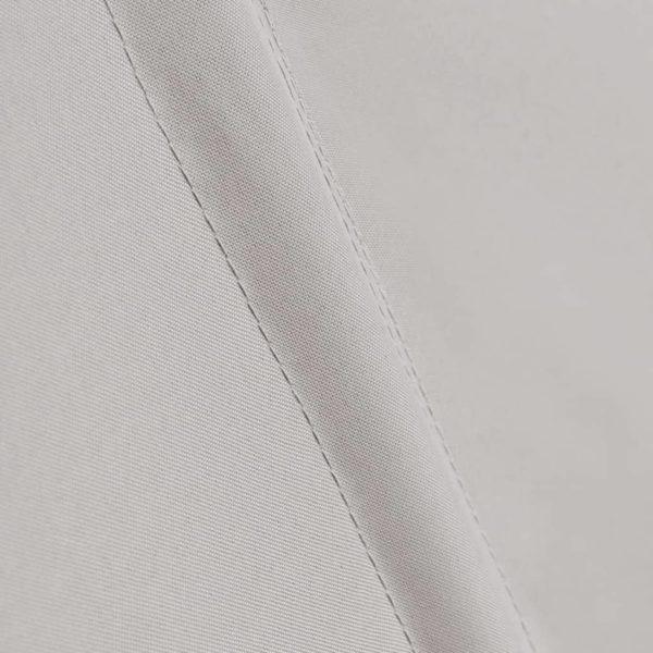 Faltbarer Balkonfächer Creme 140×140 cm
