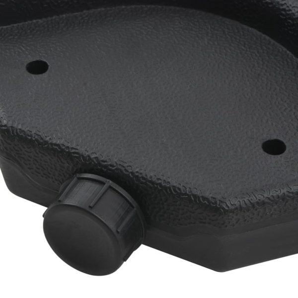 Schirmständer mobiel, mit Wasser- oder Sandbefüllung 60 L
