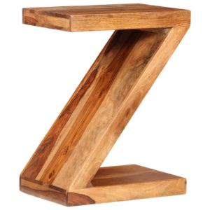 Beistelltisch Z-förmig Massivholz
