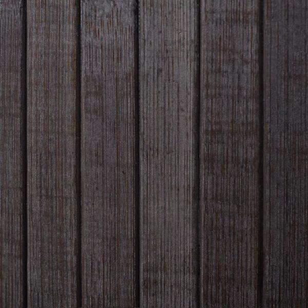 Raumteiler Bambus Dunkelbraun 250×165 cm