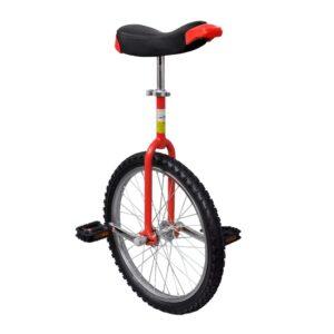 Einstellbares Einrad 50,8 cm rot