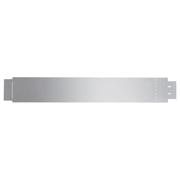 Flexible Rasenkante 20-er Set 100×15 cm Verzinkter Stahl