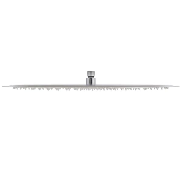 Regenduschkopf Edelstahl 50 cm Rund