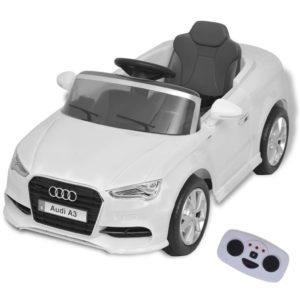 Kinder-Aufsitzauto mit Fernbedienung Audi A3 Weiß