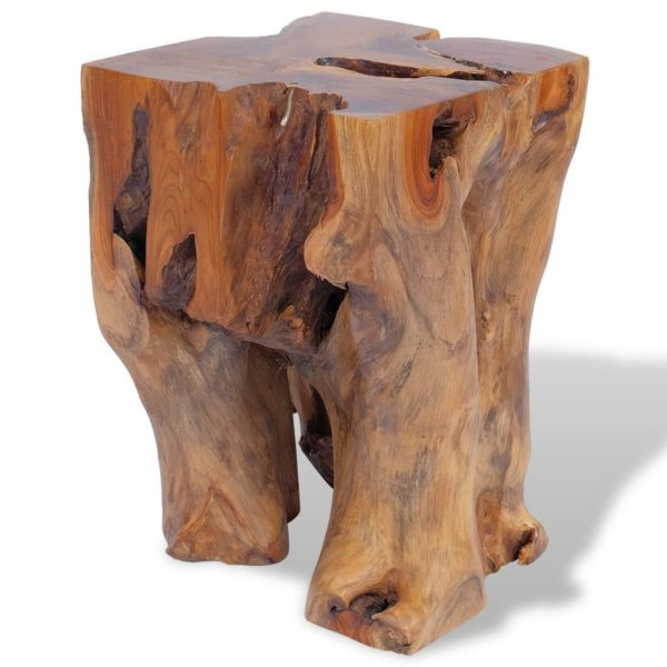 Hocker Massivholz Teak