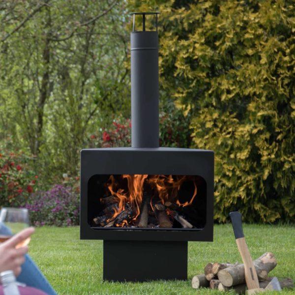 RedFire Feuerstelle Jersey XL Stahl Schwarz 81076