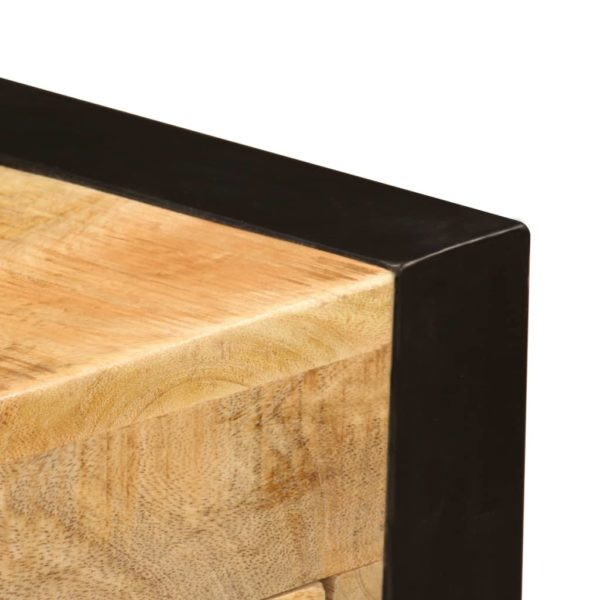 Schreibtisch mit 2 Schubladen 110 x 50 x 77 cm Mangoholz Massiv