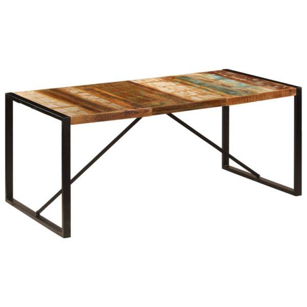 Esstisch 180 x 90 x 75 cm Recyceltes Massivholz