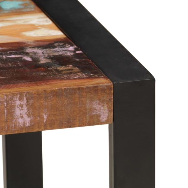 Couchtisch 120 x 60 x 40 cm Recyceltes Massivholz