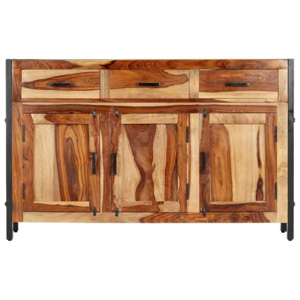 Sideboard 110 x 35 x 75 cm Massivholz