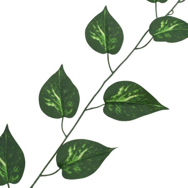 Künstliche Blätter Pothos 5 Stk. Grün 300 cm
