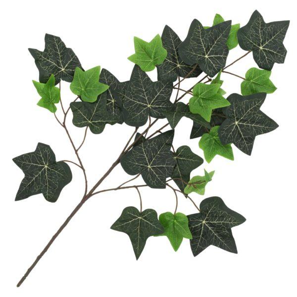 Künstliche Blätter Efeu 10 Stk. Grün 70 cm