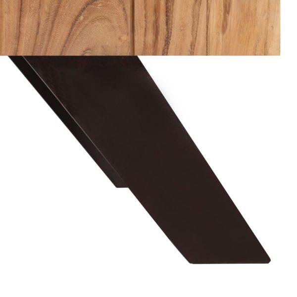 Couchtisch 90 x 50 x 45 cm Akazienholz Massiv