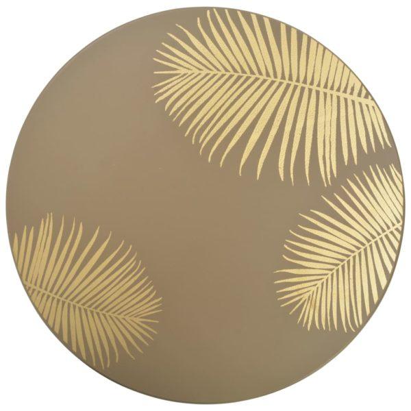 Satztische 2 Stk. Golden 40 x 45 cm / 30 x 40 cm MDF
