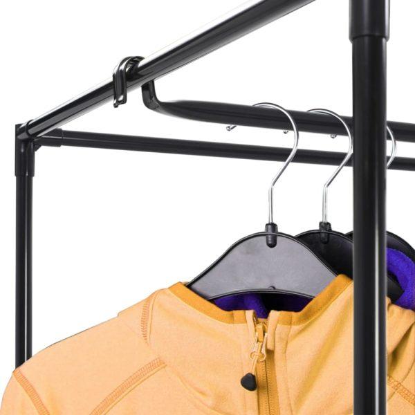 Kleiderschränke 2 Stk. Grau 75×50×160 cm