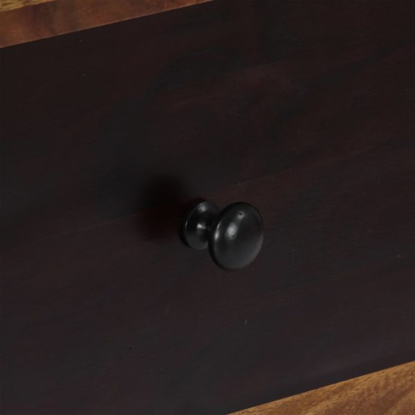 Highboard 95 x 48 x 150 cm Massivholz