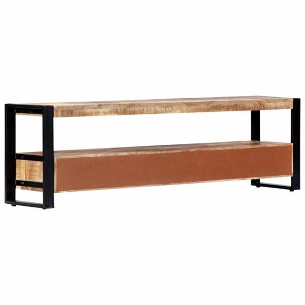 TV-Schrank 150 x 30 x 45 cm Massivholz Mango