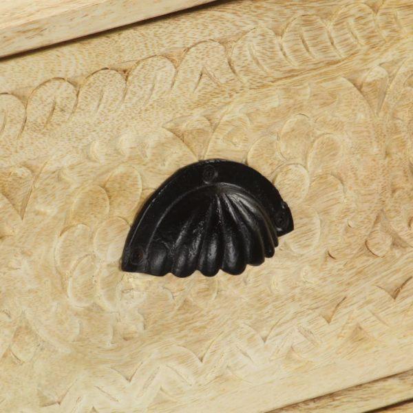 Kommode 60 x 30 x 75 cm Mango-Massivholz