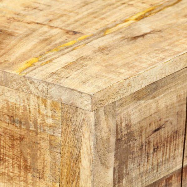 Konsolentisch 120 x 35 x 75 cm Massivholz Mango