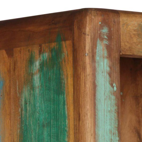 Highboard 90 x 35 x 183 cm Recyceltes Massivholz