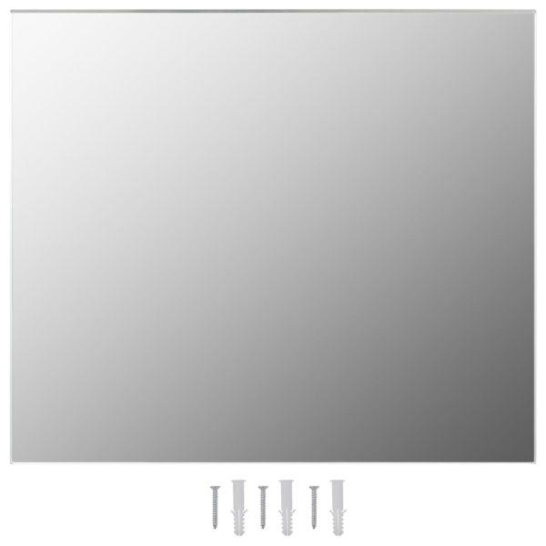 Rahmenloser Spiegel 70×50 cm Glas