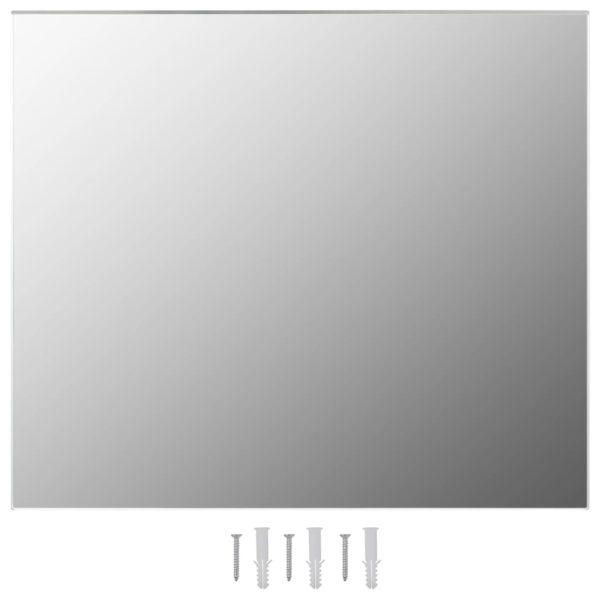 Rahmenloser Spiegel 80×60 cm Glas