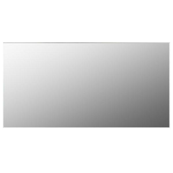 Rahmenloser Spiegel 120×60 cm Glas