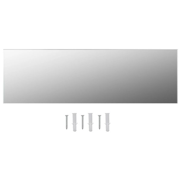 Rahmenloser Spiegel 140×40 cm Glas