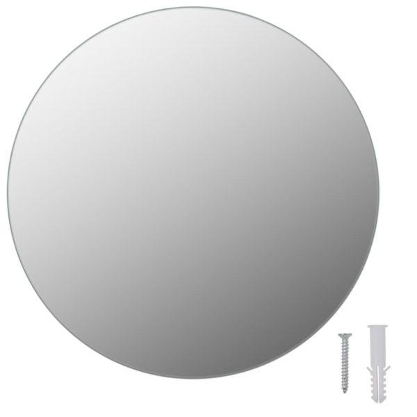 Rahmenloser Spiegel Rund 30 cm Glas