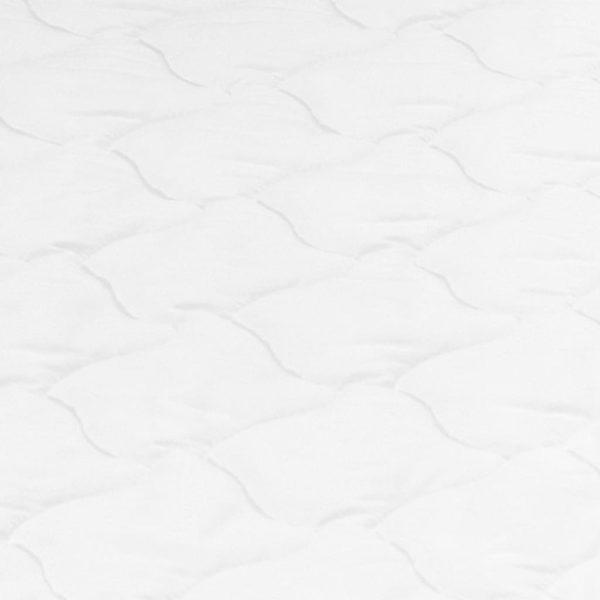 Matratzenauflage 100 x 200 cm Kaltschaum Ei-Profil 6 cm