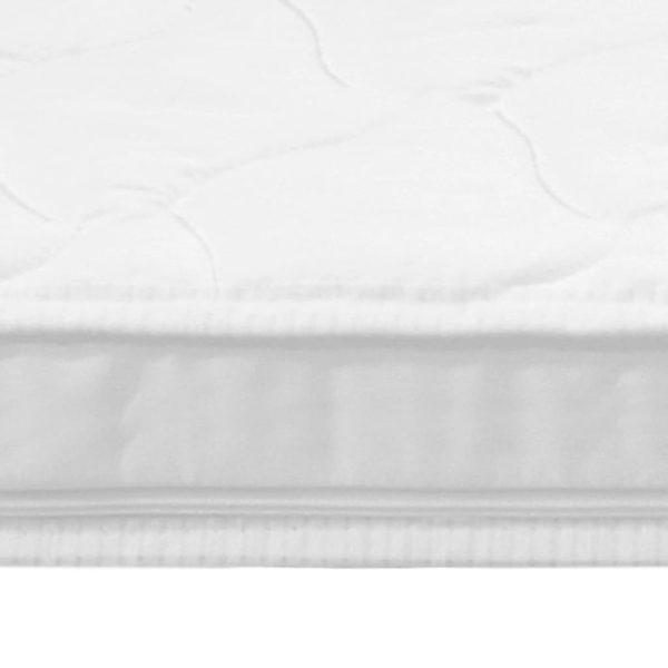 Matratzenauflage 160 x 200 cm Kaltschaum Ei-Profil 6 cm