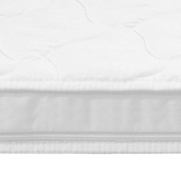 Matratzenauflage 180 x 200 cm Kaltschaum Ei-Profil 6 cm