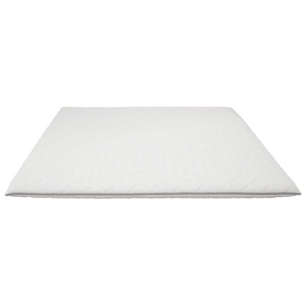 Matratzenauflage 160×200 cm viskoelastischer Memory-Schaum 6 cm