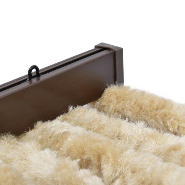 Insektenschutz-Vorhang Beige 100×220 cm Chenille
