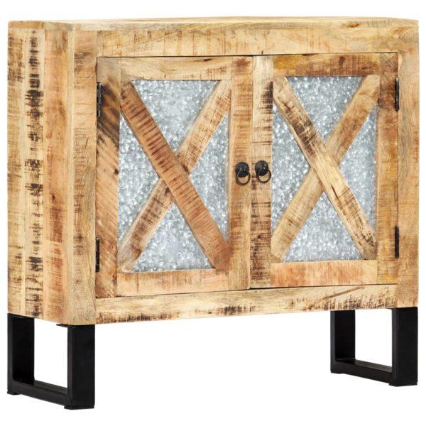 Sideboard 80 x 30 x 76 cm Massivholz Mango