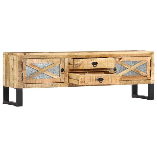 TV-Schrank 140 x 30 x 45 cm Mango-Massivholz