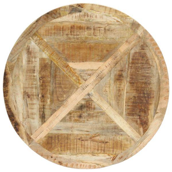 Esstisch Rund 120×76 cm Mango Massivholz