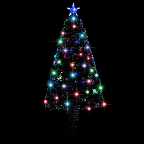 Künstlicher Weihnachtsbaum mit Ständer/LED 120 cm 135 Zweige
