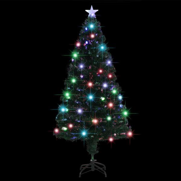 Künstlicher Weihnachtsbaum mit Ständer/LED 150 cm 170 Zweige