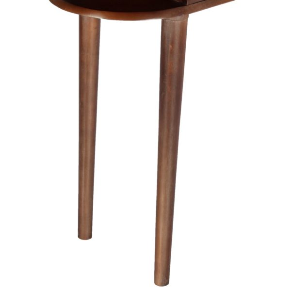 Konsolentisch 110×35×76 cm Massivholz Akazie