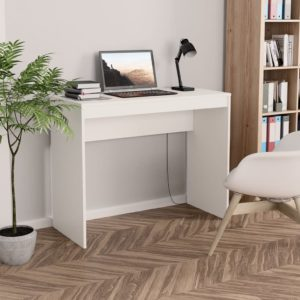 Schreibtisch Weiß 90×40×72 cm Spanplatte