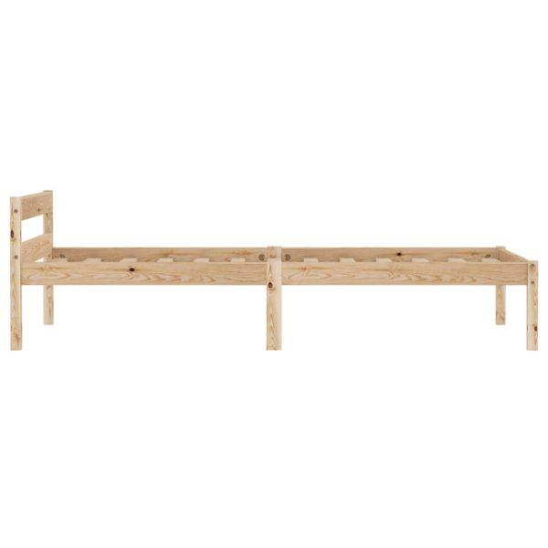 Bettgestell Massivholz Kiefer 100×200 cm