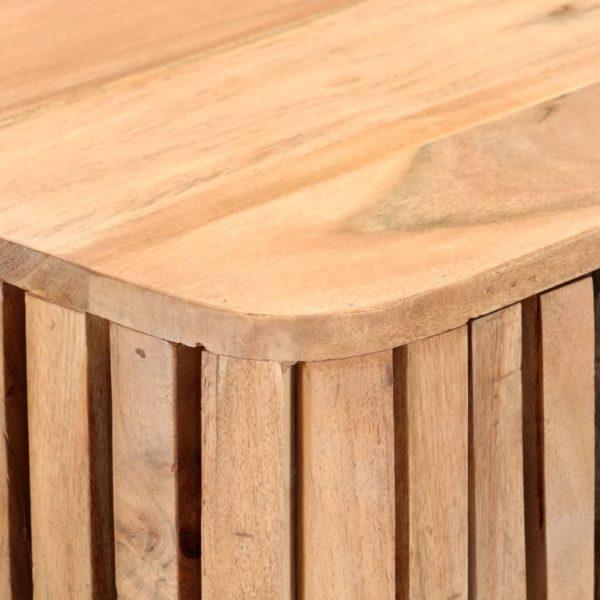 Sideboard 60 x 35 x 73 cm Massivholz Akazie