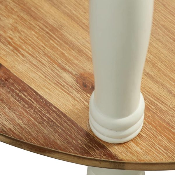 Beistelltisch 50×40×66 cm Massivholz Akazie