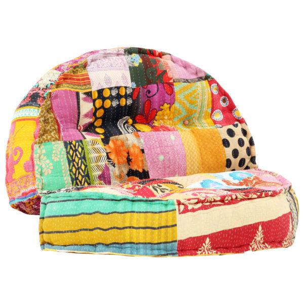 Sofa 100×20 cm Stoff Patchwork